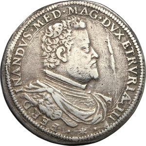 obverse: Firenze.  Ferdinando I de Medici (1587-1609). Piastra 1590