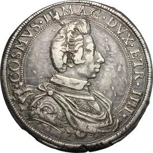 obverse: Firenze.  Cosimo II de  Medici  (1608-1621).. Piastra 1615