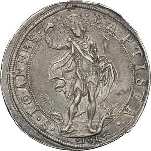 reverse: Firenze.  Cosimo II de  Medici  (1608-1621).. Piastra 1615