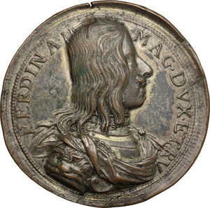 obverse: Firenze.  Ferdinando II de  Medici (1621-1670). Medaglia s.d. circa 1660