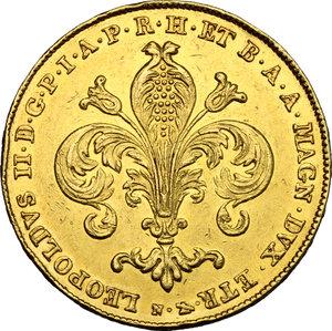 obverse: Firenze.  Leopoldo II di Lorena (1824-1859). 80 fiorini 1828