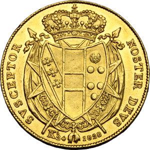 reverse: Firenze.  Leopoldo II di Lorena (1824-1859). 80 fiorini 1828