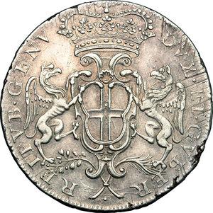 obverse: Genova.  Dogi Biennali (1528-1797).. Da 2 lire 1679, GLM