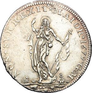 reverse: Genova.  Dogi Biennali (1528-1797).. Da 2 lire 1679, GLM