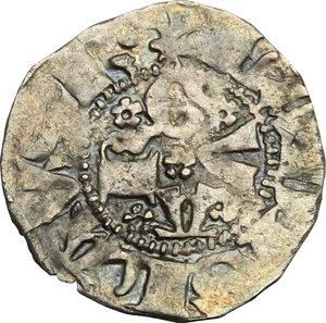 obverse: Guardiagrele.  Ladislao di Durazzo (1391-1414). Bolognino