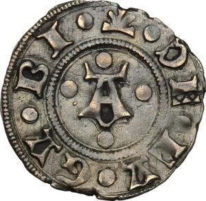 obverse: Gubbio.  Federico di Montefeltro (1444-1482). Bolognino