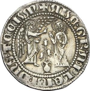 Napoli.  Carlo I d Angiò (1266-1285). Saluto d argento
