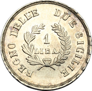 Napoli.  Gioacchino Murat (1808-1815). . Lira 1813