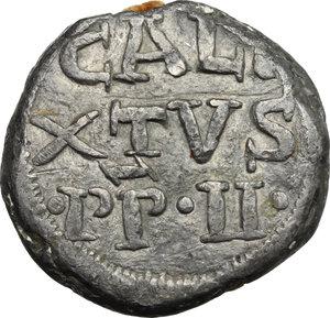 Roma.  Callisto II (1119-1124), Guido dei Conti di Borgogna . Bolla