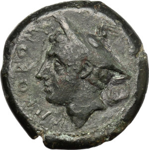 Samnium, Southern Latium and Northern Campania, Suessa Aurunca. AE 20 mm. c. 265-240 BC
