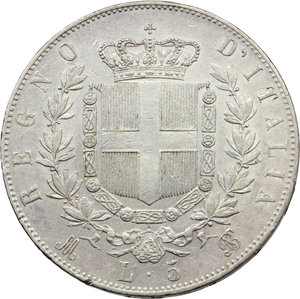 Reverse image of coin 654