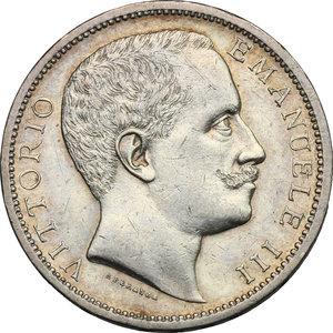 Vittorio Emanuele III (1900-1943). 2 lire 1901