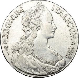 obverse: Vittorio Emanuele III (1900-1943). Tallero 1918