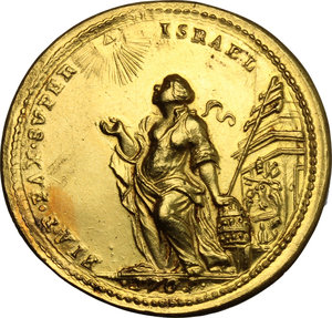 Reverse image of coin 735