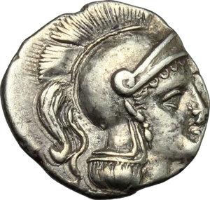 Southern Apulia, Tarentum. AR Diobol, c. 325-280 BC
