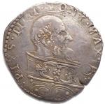 D/ Zecche Italiane.Bologna.Pio V (1566-1572).Bianco.M. 49.AG. BB