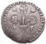 R/ Zecche Italiane - Firenze.Repubblica (Sec. XIII-1532).Grosso guelfo da 5 soldi e denari 6. Simbolo Compasso.AG.g. 2.60Raro qBB.