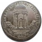 R/ Zecche Italiane.Bologna.Pio VI (1775-1799).100 bolognini A. VIII.M. 197.RR.AG. Intonso con bellissima patina.Conservazione insolita