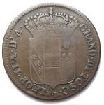 R/ Zecche Italiane - Firenze. Leopoldo II. 1824-1859. 5 quattrini 1829.Cu. 3.75 gr. Pag. 173.RRR. MB-BB