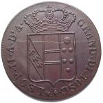 R/ Zecche Italiane.Firenze.Leopoldo II (1824-1859).3 quattrini 1840.Pag. 188.R.MI.SPL/FDC.