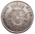 R/ Zecche Italiane.Firenze.Leopoldo II di Lorena (1824-1859).Mezzo paolo 1857.Pag. 160. Mont. 368.AG.SPL-FDC.R.Ottimo esemplare