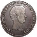 D/ Zecche Italiane - Firenze.Leopoldo II (1824-1859).Scudo 1859.MIR 449/5.AR.Buon BB+