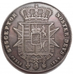 R/ Zecche Italiane - Firenze.Leopoldo II (1824-1859).Scudo 1859.MIR 449/5.AR.Buon BB+