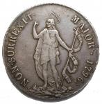 D/ Zecche Italiane - Genova. Governo dei Dogi biennali (1528-1797). III fase: 1637-1797. Da 8 lire 1796 AG. Lunardi 364. MIR 309/4. Bel BB+. Patina