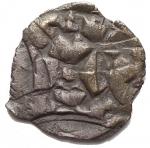 R/ Zecche Italiane - Lucca. Enrico III , IV o V (1035-1125) Denaro. d/ H in centro , intorno IMPERATOR r/ LVCA in centro, intorno ENRICVS.AG, 1,04 gr.BB+. Bella patina
