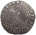 D/ Zecche Italiane - Messina. Giacomo d'Aragona (1285-1296). Pierreale AG gr. 2,98. Spahr 8. MIR 179. Buon BB+