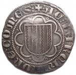R/ Zecche Italiane - Messina. Giacomo d'Aragona (1285-1296). Pierreale AG gr. 2,98. Spahr 8. MIR 179. Buon BB+