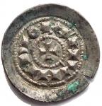 D/ Zecche Italiane - Milano. Enrico III o IV. 1039-1106. Denaro Scodellato. Ag. gr 0,71. mm 16,23. MIR 48. SPL. Intonso con bella patina