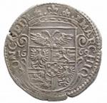 R/ Zecche Italiane.Mirandola.Alessandro II Pico (1637-1691).Lira 1669.CNI 9/13.AG.BB+. Leggera patina