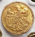 R/ Zecche Italiane -Modena.Francesco I d'Este (1629-1658).Scudino d'oro da 103 soldi.MIR 751.AU.BB+. Periziato