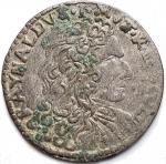 D/ Zecche Italiane - Modena. Rinaldo d'Este (1706-1737). Giorgino. MIR 836. MI. NC. qBB.