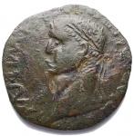 D/ Barbariche - Nerone Druso. Bronzo ibrido. gr 13,8. mm 31,7 x 31,1. BB+. Patina verde. Raro