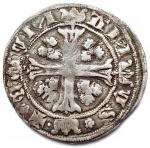 R/ Zecche Italiane.Como.Repubblica Abbondiana (1447-1448).Grosso.CNI 1/3 B. 656.RRR.AG.BB