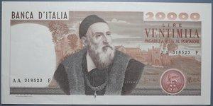 reverse: REPUBBLICA ITALIANA 20000 LIRE 21/2/1975 TIZIANO R qSPL