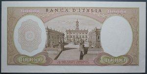obverse: REPUBBLICA ITALIANA 10000 LIRE 27/11/1973 MICHELANGELO SPL