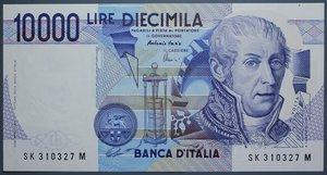 reverse: REPUBBLICA ITALIANA 10000 LIRE 1998 A. VOLTA FDS