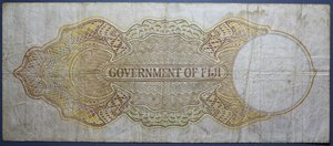 D/ FIJI 5 SHILLINGS 01.03.1938 BB