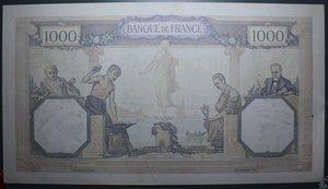 D/ FRANCIA 1000 FRANCS 20.06.1940 SPL