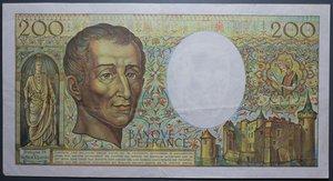 D/ FRANCIA 200 FRANCS 1987 qSPL