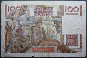 D/ FRANCIA 100 FRANCS 18.4.1946 qBB