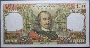 R/ FRANCIA 100 FRANCS 01.09.1977 SPL