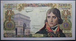 R/ FRANCIA 100 NOUVEAUX FRANCS 01.12.1960 qSPL