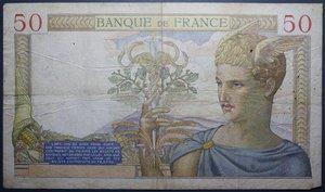 D/ FRANCIA 50 FRANCS 11.02.1937 BB