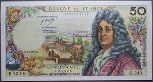 R/ FRANCIA 50 FRANCS 07.02.1974 SPL+
