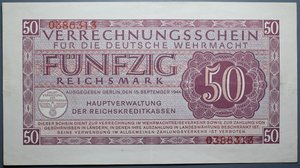 R/ GERMANIA 50 REICHSMARK 1944 SPL