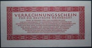 D/ GERMANIA 10 REICHSMARK 1944 FDS